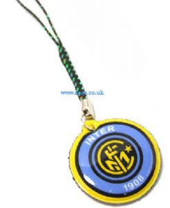Inter Milan FC Mobile phone charm, (jj26)
